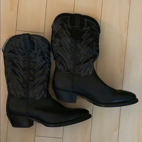 Durango men's black cowboy boots size 13